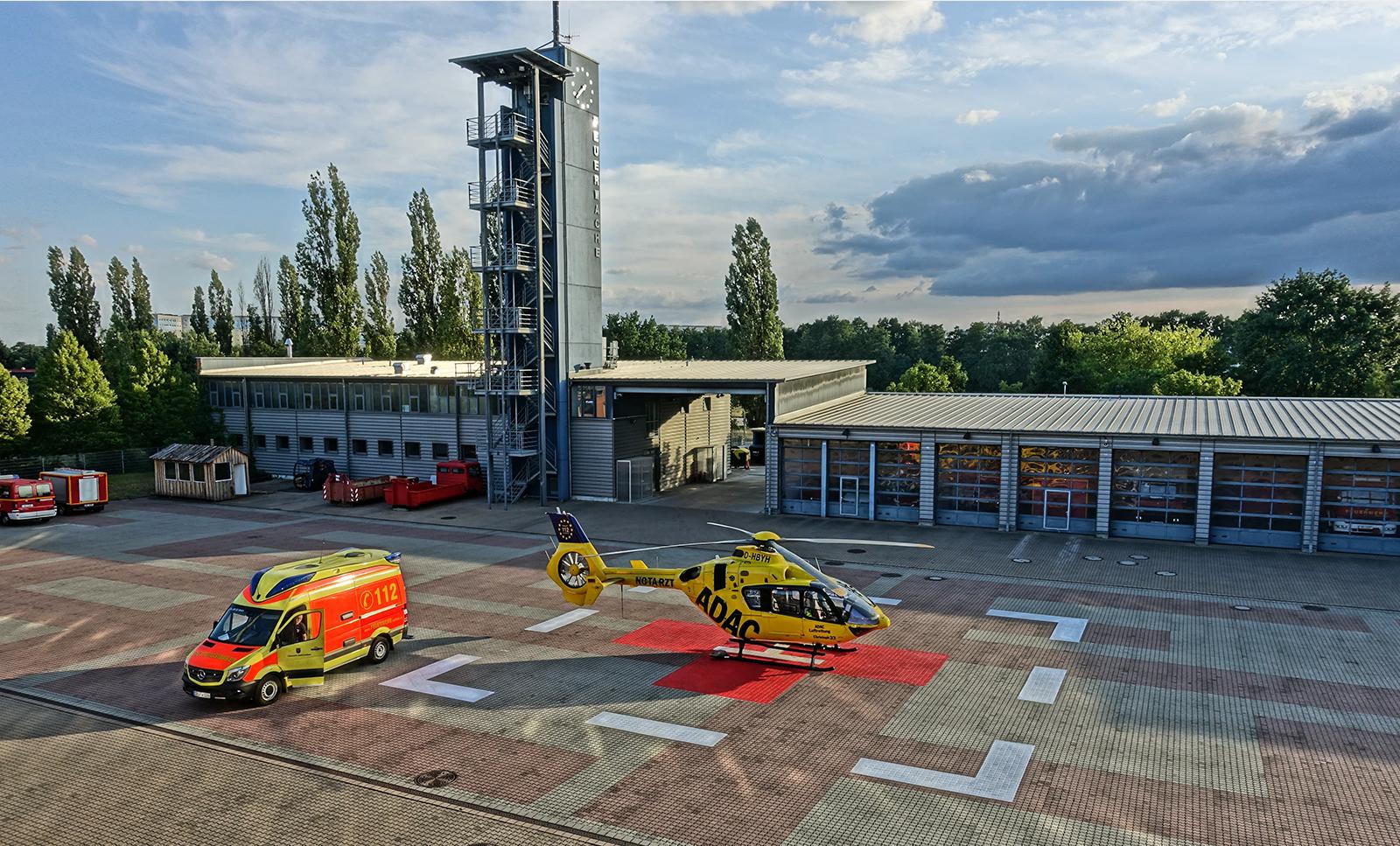 Foto der Station Christoph 33 Brandenburg Senftenberg