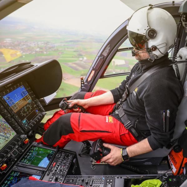 Technik und Ausstattung im Hubschrauber der ADAC Luftrettung