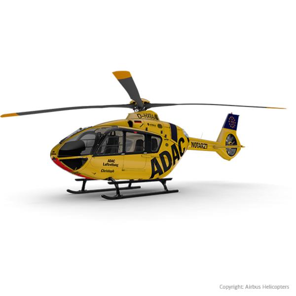 Grafik des Hubschrauber EC135/H135