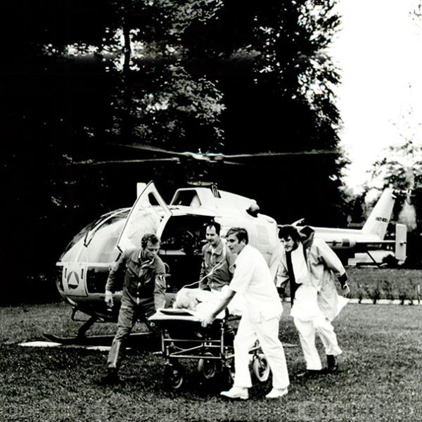 Geschichte der ADAC Luftrettung